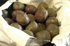 Revenue arrests man who swallowed 80 pellets of cannabis resin