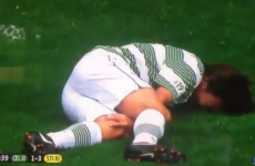 Gabby Agbonlahor nails Louis from 1 Direction in Petrov's charity match