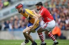 Clare's Darach Honan left 'dizzy' by Shane O'Neill helmet swipe