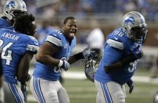 Detroit lineman costs his team 'pick six' with dangerous cheap shot