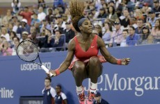 Serena Williams 'feels the love' on the way to another US Open