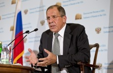 Russia urges Syria: Give up your chemical weapons