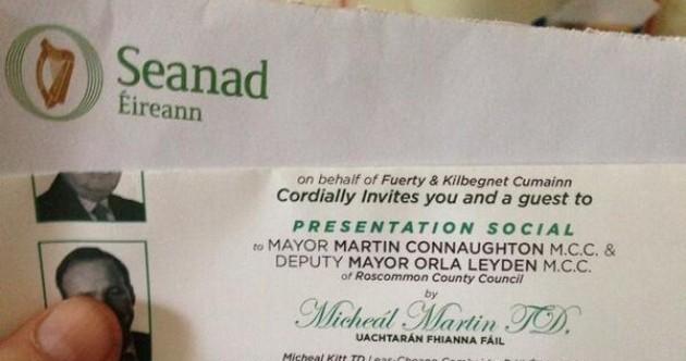 Fianna Fáil senator cancels 'Dáil bar' event after Oireachtas envelopes controversy