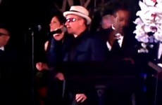 Bono serenades the Buffetts at family wedding