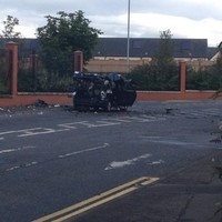 Belfast residents evacuated for controlled explosion on car