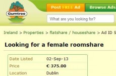 Man advertises for woman to 'share a bed' in Dublin