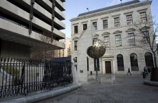 Man stabbed in stomach and face outside Central Bank in daylight attack