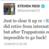 Steven Reid hits out at Trap on Twitter, says he made it 'impossible' to play for Ireland