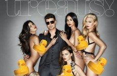 The Dredge: Robin Thicke explains his feelings about naked women