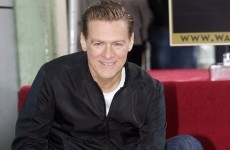 He's a star! Bryan Adams gets a place on Hollywood Walk of Fame