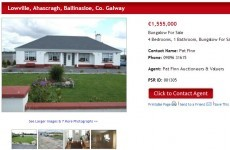 Would you pay €1.5 million for this Galway bungalow?