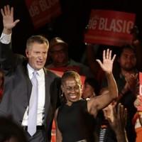Bill de Blasio ahead in Democratic NYC mayoral poll, Christine Quinn third