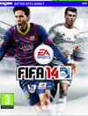 There's Gareth Bale in his new kit chasing Leo Messi on the cover of FIFA