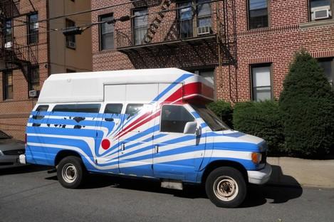 File photo of a van; not the van in question.