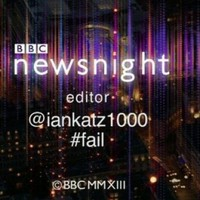 Newsnight acknowledges editor's Twitter mishap in credits