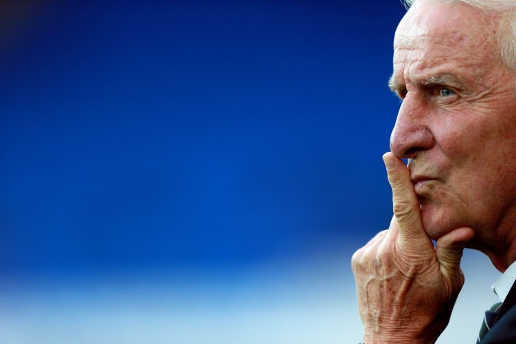 Republic of Ireland football manager Giovanni Trapattoni, who stepped down during the week.