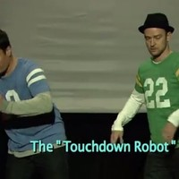 Jimmy Fallon and Justin Timberlake present 'The Evolution Of The Touchdown Dance'