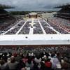 The Eucharistic Congress cost €9.5 million (including 70,000 rain ponchos)