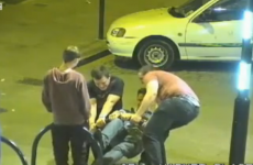 Lads caught on CCTV... fixing a bike rack at 3am