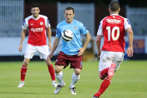 O'Neill in action for Drogheda.