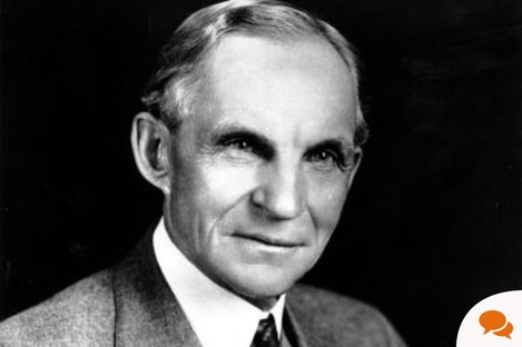 Henry Ford said his management principles could be applied to schools, hospital and the railways.