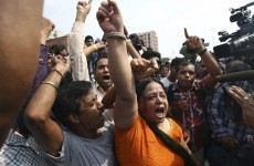 Four men sentenced to death over gang rape and murder of Indian student