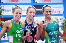 Silver medal success for Ireland's Aileen Reid at World Triathlon Series Grand Final
