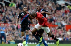 David Moyes criticises Ashley Young, says he deserved booking