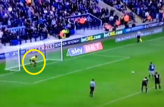 Scott Carson double bluffs himself to concede bizarre penalty