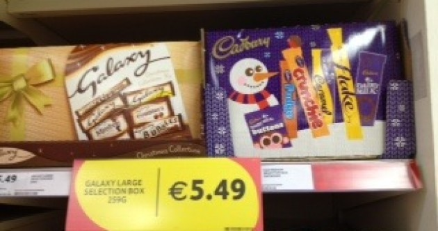 Deep breaths: There's 100 days till Christmas and they're already selling selection boxes