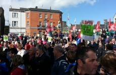 Hundreds protest against Ballinasloe psychiatric unit closure