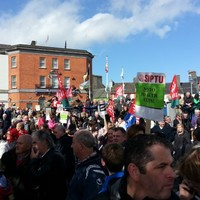 Hundreds protest against Ballinasloe psychiatric unit closure