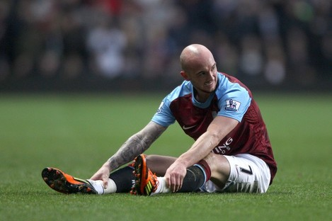 Stephen Ireland recently signed for Stoke, having been frozen out of the first team at Villa.