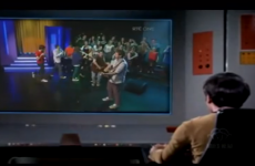 Captain Kirk watches Colaiste Lurgan on the Late Late