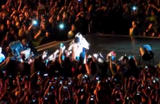 Fan yanks Beyoncé off the stage in Brazil