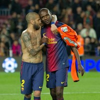 Dani Alves offered Eric Abidal part of his liver for transplant