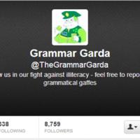 6 of the most arresting tweets from the Grammar Garda