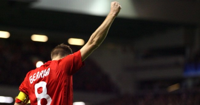 Eight Steven Gerrard stunners ahead of game 400 as Liverpool captain