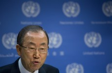 "UN chief: Report confirms chemical weapons ""war crime"" in Syria"