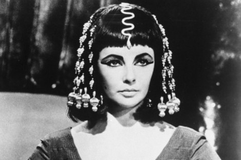 Elizabeth Taylor at the height of her powers in 'Cleopatra' in 1963