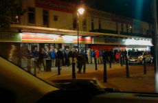 Check out the queues for GTA V last night