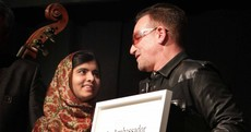 Malala collects 'Ambassador of Conscience' award at Mansion House ceremony