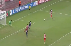 Olympiakos' first goal tonight was a little bit special