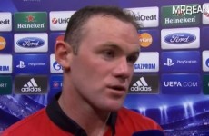 Rooney joins United's 200 club, then snaps at post-match interviewer