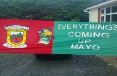 The best Simpsons-themed Mayo banner you'll see before Sunday