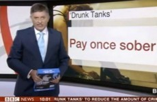 Watch: BBC presenter grabs a stack of paper instead of iPad on live TV