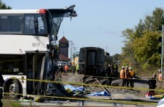 Canada: 6 dead after double-decker bus crashes into train