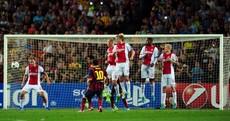 Lionel Messi scores a brilliant hat-trick as Barca overcome Ajax