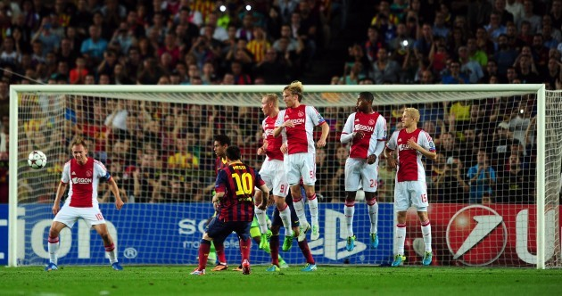 Lionel Messi scores a brilliant hat-trick as Barca overcome Ajax