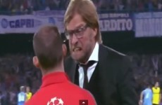 Football's nice guy Jurgen Klopp completely loses it during Dortmund's defeat